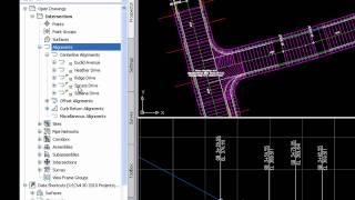 Civil 3D Intersection Design Tools