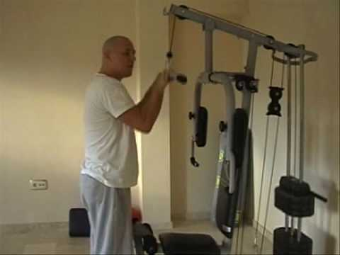 MULTI GYM Tricep Muscle YouTube