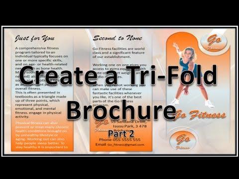 Make Brochure Make Brochures With Microsoft Powerpoint