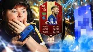 🔵⚡🔴 LIGUE 1 FUT CHAMPS REWARDS! CAN WE PACK 98 NEYMAR? LOADS OF PACKS + RED PICKS! (FIFA 19)