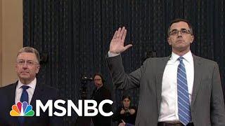Republican-Requested Impeachment Witnesses Do Trump No Favors   Rachel Maddow   MSNBC