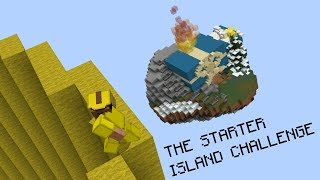 THE STARTER ISLAND CHALLENGE (Hypixel Bed Wars)
