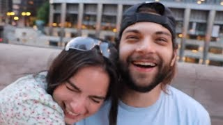 Vlogsquad Flirting with Natalie for 13 Minutes