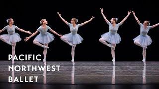 Jerome Robbins' The Concert - Mistake Waltz long excerpt (Pacific Northwest Ballet)