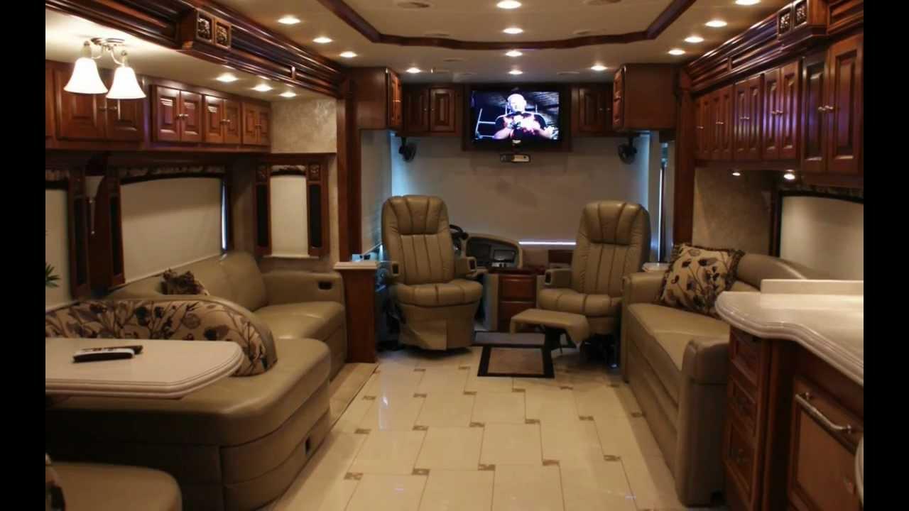 Tiffin Allegro Bus Luxury Rv Rental Youtube