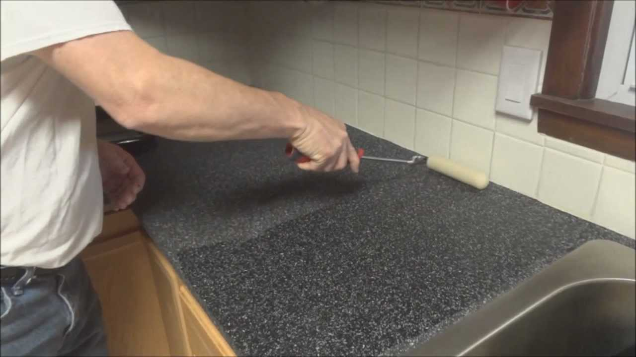 CounterTop Transformation the RustOleum way  YouTube