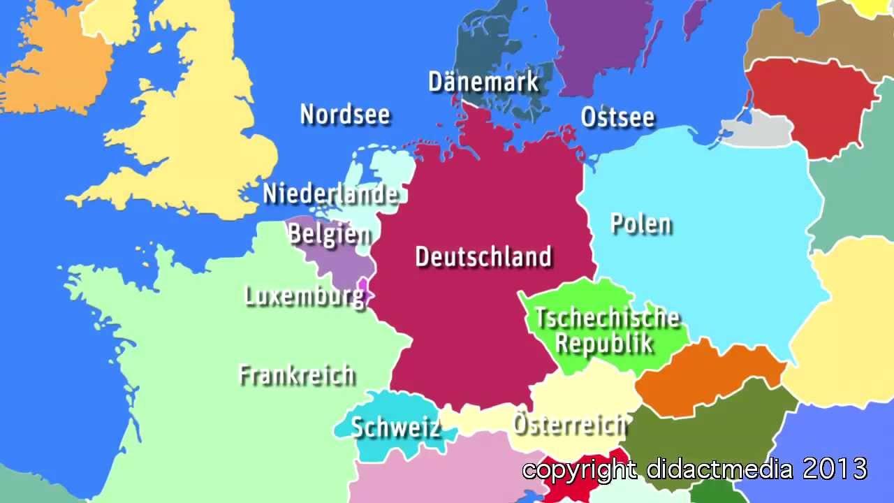 Luxemburg Map Europe