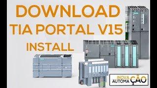 Download e Instalação Siemens TIA Portal V15 Free Download