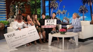 Kylie and Kris Jenner Reward Inspiring Women with Huge Gifts