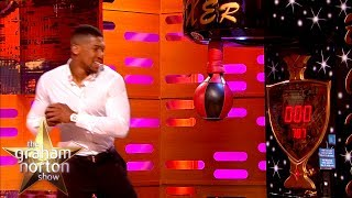 Anthony Joshua DESTROYS Punching Bag Record! | The Graham Norton Show