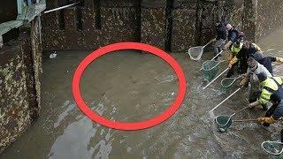 Yetkililer 200 Senelik Kanalı Boşalttığında Dibinde Buldukları Şey Olağanüstüydü