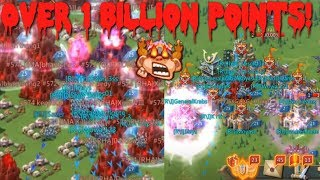 We got over 1 billion points in our first KvK! Part 1 | Lords Mobile