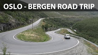 Mercedes EQC Norway road trip part 1