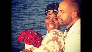 R&B Singer FANTASIA Got Married [WEDDING PICS & Celebration ]