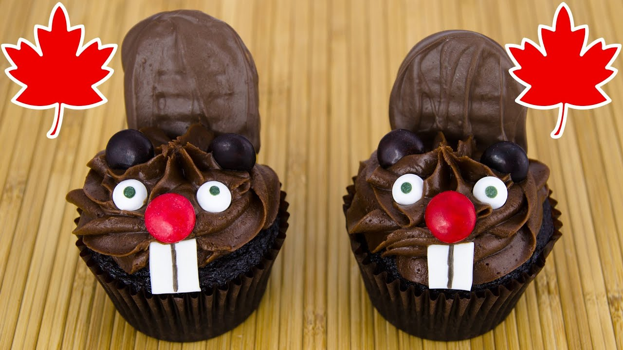 Cute Dessert Wallpaper Beaver Cupcakes For Canada Day By Cookies Cupcakes And