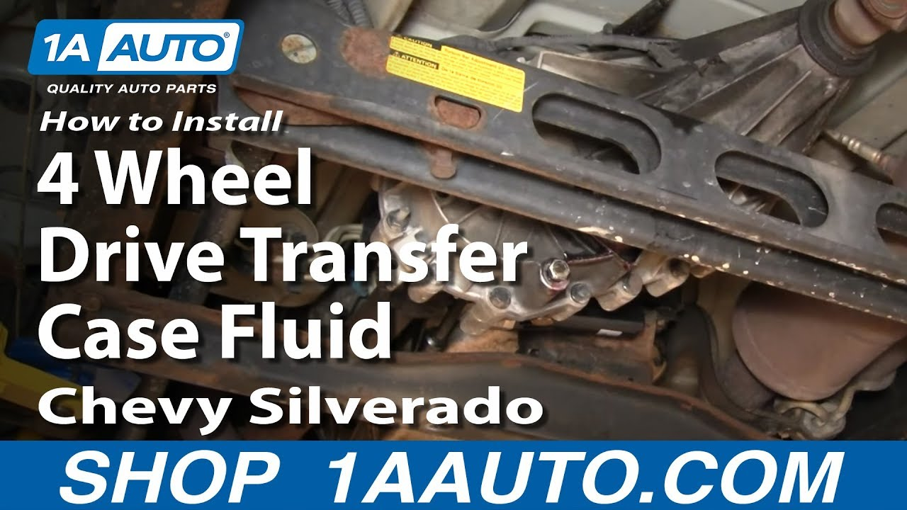 05 Chevy Suburban Fuse Box How To Install Replace 4 Wheel Drive Transfer Case Fluid