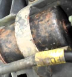 how to change fuel filter 1996 chevy express van youtube [ 1280 x 720 Pixel ]