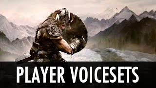 Skyrim Mod: Player Voicesets