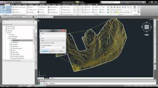 How to create surface from polylines in Civil 3D