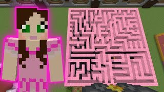 Minecraft: CHASE THE MOUSE GAME! - HEAD HUNTER THEME PARK [6]