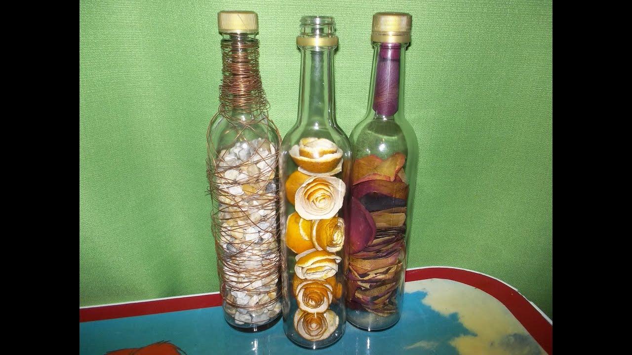 Arreglos De Mesa Con Botellas De Vino