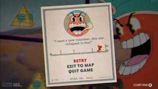 Cuphead - ″Pyramid Peril″ Game Over Screen Version