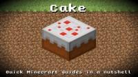 Minecraft - Cake! Recipe, Item ID, Information! *Up to ...
