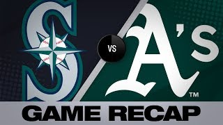 Game Recap: Mariners power past A's on Opening Day (3/20/19)