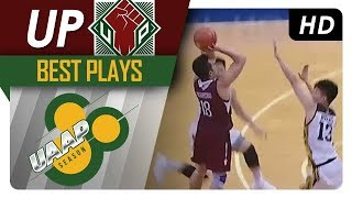 Paul Desiderio claims, drains GAME-WINNING three-pointer over UST | UP | Best Plays