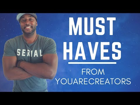 4 Things you must have from YouAreCreators! ( Law Of Attraction Stuff!)