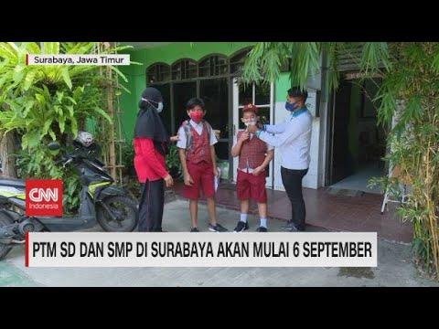 PTM SD & SMP di Surabaya Akan Mulai 6 September