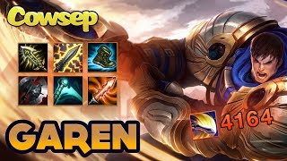 GAREN OBLITERATES DEFENSELESS BOY SCOUT WITH HIS MASSIVE SWORD