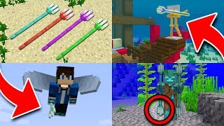 10 Things You Didn't Know About the TRIDENT in Minecraft!