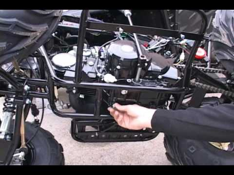 107cc Wiring Diagram Chinese Atv Oil Change How To Youtube