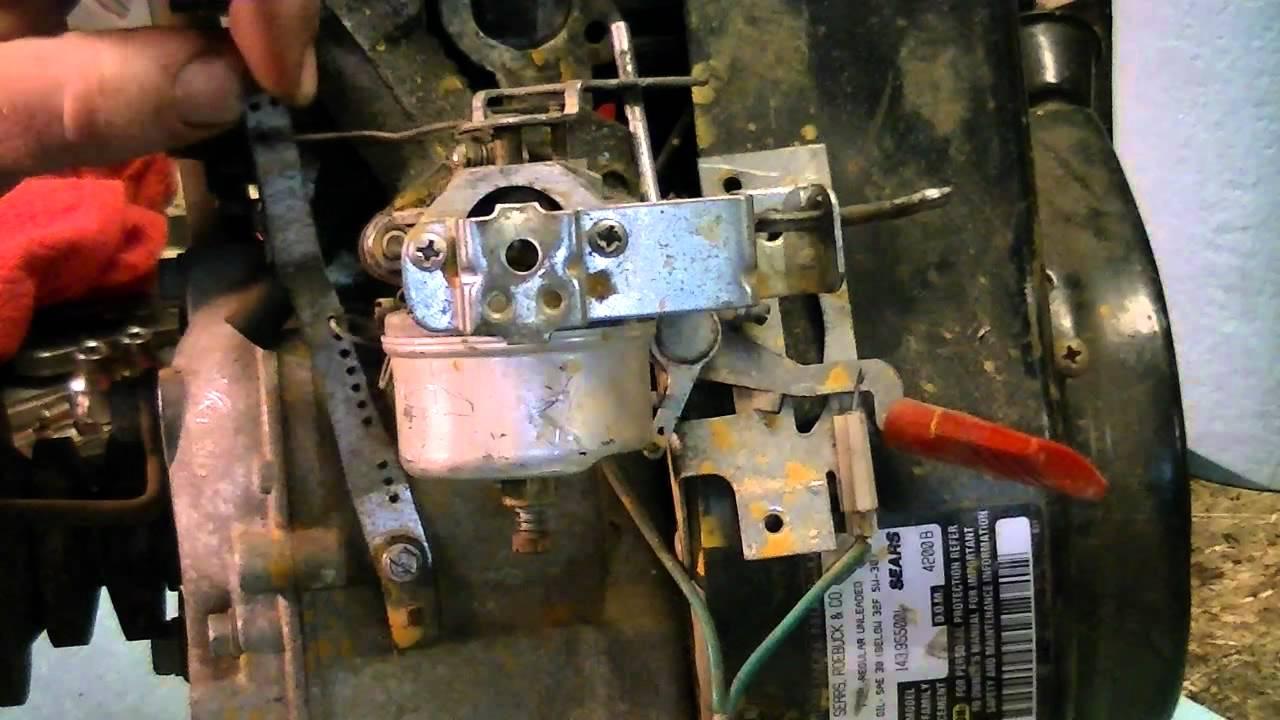 11 Hp Briggs Carburetor Diagram Wiring Schematic Tecumseh Governor Fix Youtube