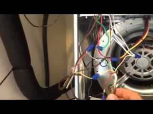 How to Wire LowVoltage on Rheem  YouTube