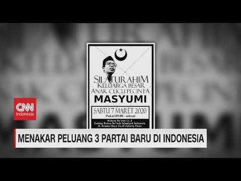 Menakar Peluang 3 Partai Baru di Indonesia