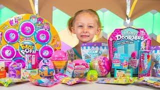 Pikmi Pops Mega Pack Disney Doorables Surprise Eggs & Blind Bags Toys for Girls Kinder Playtime