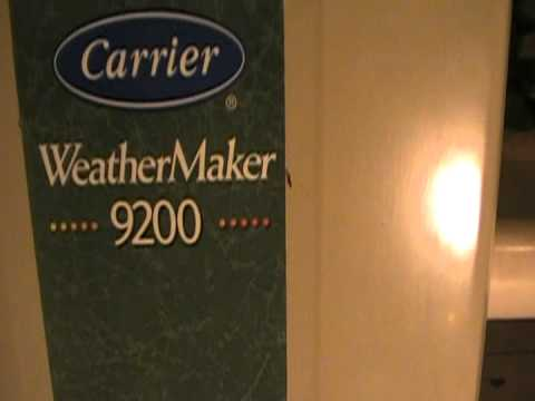 Carrier WeatherMaker 9200