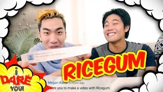 I Dare You: Jumping Bellyflop! (ft. Ricegum)