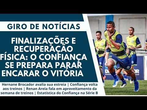 Finalizações e recuperação física: O Confiança se prepara parar encarar o Vitória | Giro de Notícias