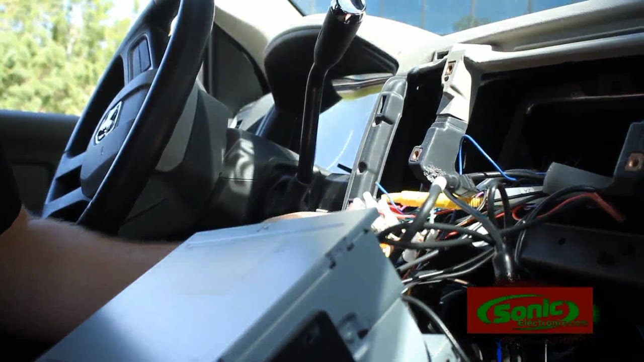 2009 Toyota Corolla S Wiring Diagram Mtx Audio Sub Amp Install In A 2009 Dodge Ram 1500 Part