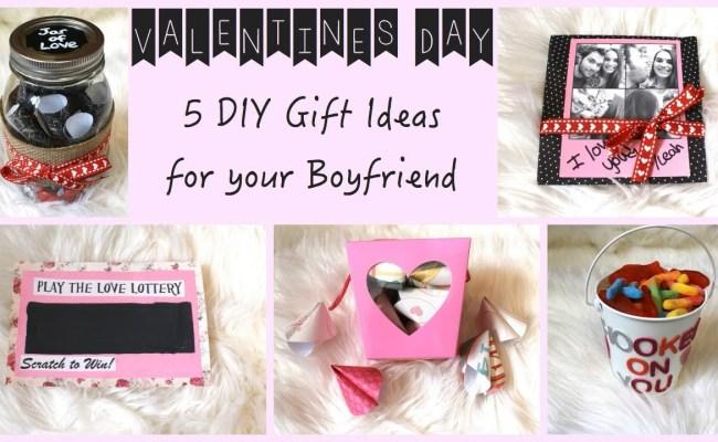 5 Diy Gift Ideas For Your Boyfriend Youtube