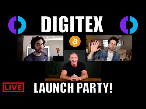 DIGITEX Launch Party! Interview With CEO ADAM TODD [Cryptocurrency News Online]