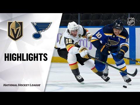 Golden Knights @ Blues 4/7/21 | NHL Highlights