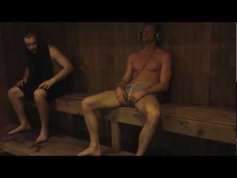 nudist family sauna