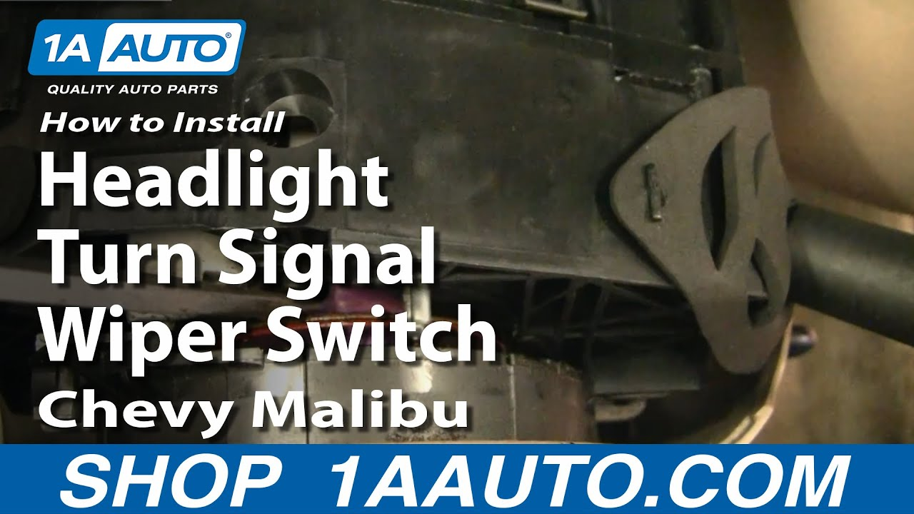 Wiring Diagram How To Install Replace Headlight Turn Signal Wiper Switch