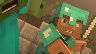 ♪ ″Evil Mobs″ - A Minecraft Parody of Animals By Maroon 5 (Music )