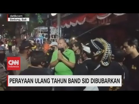 Perayaan Ulang Tahun Band SID Dibubarkan