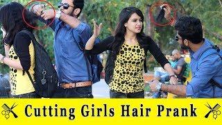 Cutting Girls Hair Prank    Prank In India 2019    Funday Pranks